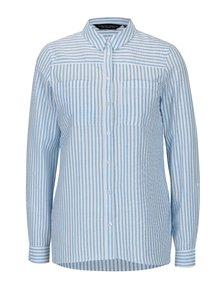 Bielo-modrá pruhovaná košeľa s vreckami Dorothy Perkins