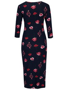 Rochie bodycon bleumarin cu print floral pentru femei insarcinate - Dorothy Perkins Maternity