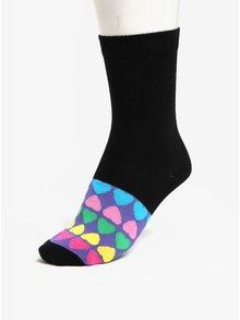 Súprava šiestich dámskych vzorovaných ponožiek v čiernej a ružovej farbe Oddsocks Secret