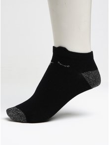 Súprava troch párov dievčenských ponožiek v čiernej, ružovej a bielej farbe 5.10.15.