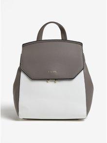 Bielo-sivý batoh Gionni Cara
