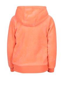 Oranžová holčičí mikina s kapucí 5.10.15.