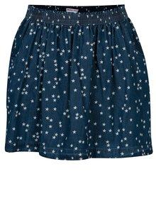 Tmavomodrá sukňa s vreckami a motívom hviezd 5.10.15.