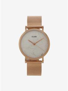 Dámské hodinky v růžovozlaté barvě CLUSE