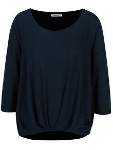 Bluza bleumarin cu pliuri si maneci 3/4 - Haily´s Mara