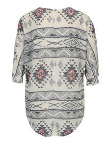 Krémový tenký sveter s 3/4 rukávom Haily´s Lisa