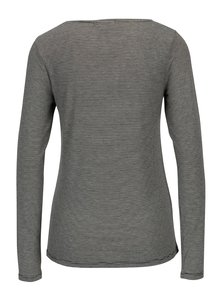 Bluza alb & negru cu model fin un dungi - Haily´s Greta
