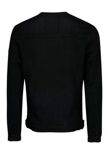 Tmavomodrá pánska rifľová bunda Garcia Jeans