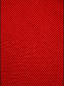 Červený plisovaný šál Pieces Nabia