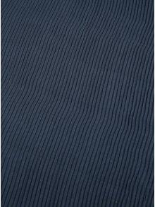 Modrý plisovaný šál Pieces Nabia