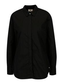 Černá dámská košile se skrytou légou Garcia Jeans