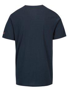 Tricou bleumarin cu logo pentru barbati Nike