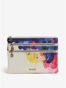Krémová listová kabelka s potlačou Desigual Corel