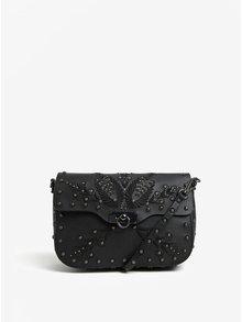 Čierna crossbody kabelka s ozdobami Desigual Amorgos