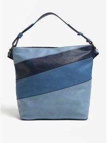 Modrá kabelka s vyšitými ornamentmi Desigual Almira