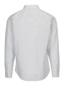 Camasa alba slim fit cu print paisley - Jack & Jones Premium Samson