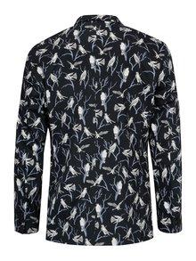 Sacou bleumarin cu print pasari - Jack & Jones Premium Ace