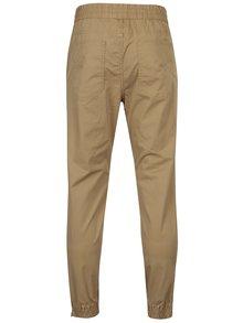 Pantaloni bej cu snur in talie si buzunare - Jack & Jones Vega