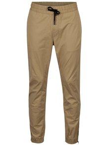Béžové kalhoty Jack & Jones Vega