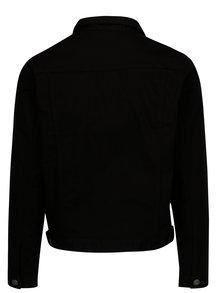 Jacheta neagra din denim cu buzunare - Jack & Jones Earl