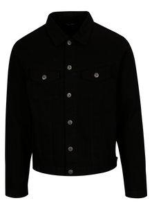 Jacheta neagra de blugi cu buzunare - Jack & Jones Earl