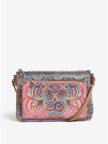 Geanta crossbody cu model multicolor mandala  Desigual Vinland