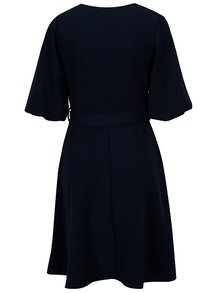Tmavě modré šaty s páskem Dorothy Perkins