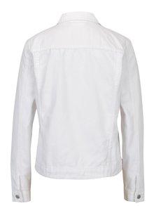 Jacheta din denim alba cu buzunare - VILA Jules