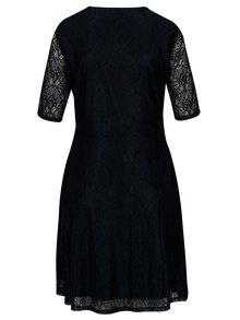 Tmavomodré čipkované šaty VILA Frej