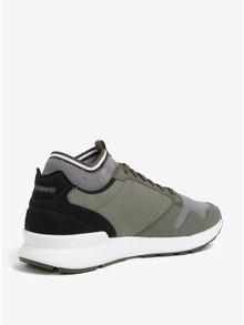 Pantofi sport verzi pentru barbati - Le Coq Sportif Omicron Techlite