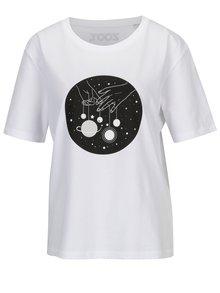 Tricou alb cu print pentru femei - ZOOT Original Femeile vin de pe Venus, barbatii de pe Marte