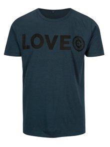 Tricou albastru din amestec de bambus pentru barbati - ZOOT Original Lovec