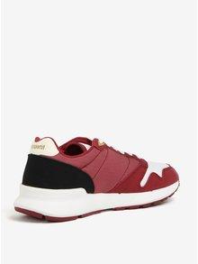 Pantofi sport bordo pentru femei - Le Coq Sportif Omega Techlite