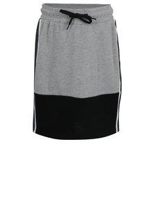 Sivá dievčenská mikinová sukňa LIMITED by name it Foline