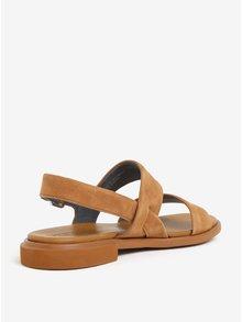 Hnedé dámske semišové sandále Camper Edy