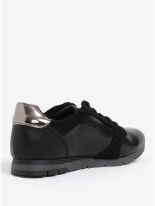 Pantofi sport negri lacuiti Tamaris