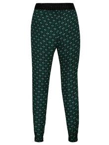 Zelené vzorované nohavice Madonna