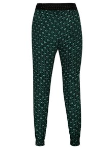 Zelené vzorované kalhoty Madonna