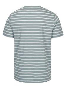 Zeleno-biele pruhované tričko Original Penguin