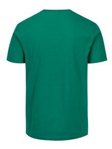 Zelené tričko s potlačou Original Penguin