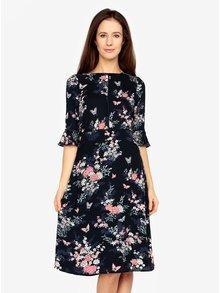 Rochie midi cu print floral Oasis Kimono