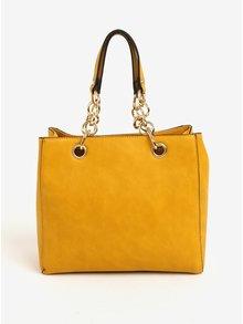 Žlutá kabelka do ruky Bessie London