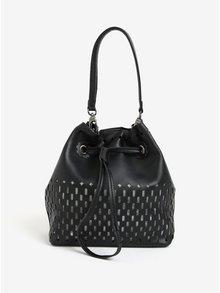 Černá vaková kabelka s malou kabelkou 2v1 Bessie London