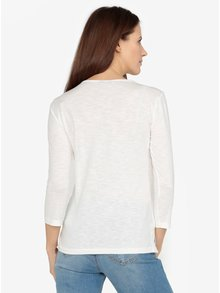 Bluza crem cu detalii din dantela  M&Co