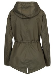 Khaki krátká parka s kapucí ONLY New Kate