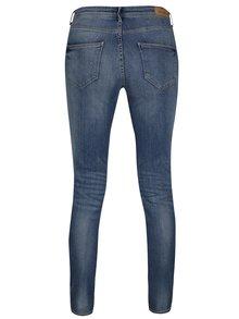 Modré džíny s vyšisovaným efektem Blendshe Bright Panel