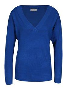 Pulover albastru oversize Blendshe Shana