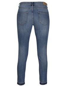 Modré zkrácené džíny s potrhaným efektem Blendshe Bright Jappa