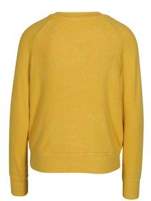 Žlté  tričko s dlhým rukávom TALLY WEiJL