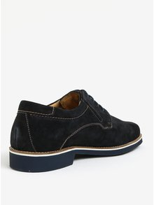 Pantofi bleumarin din piele intoarsa - bugatti Falco